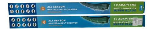 2x SCHEIBENWISCHER FLAT VORNE 600//550mm für Mercedes Citan W415 ab 2012