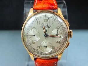 Vintage-1940-S-Breitling-Premier-18k-Rose-Gold-Reference-787-Chronograph-35mm