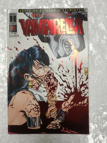 Vengeance of Vampirella #1 Red Foil Comic Book 1994
