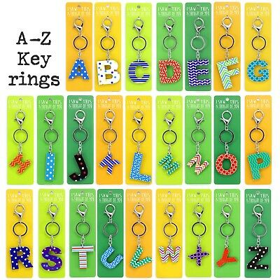 Z letters to pick from Personalized Initial Guardian Angel Wing Keyring A