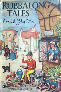 ENID-BLYTON-RUBBALONG-TALES-1ST-FIRST-EDITION-1950-WITH-DW-DJ