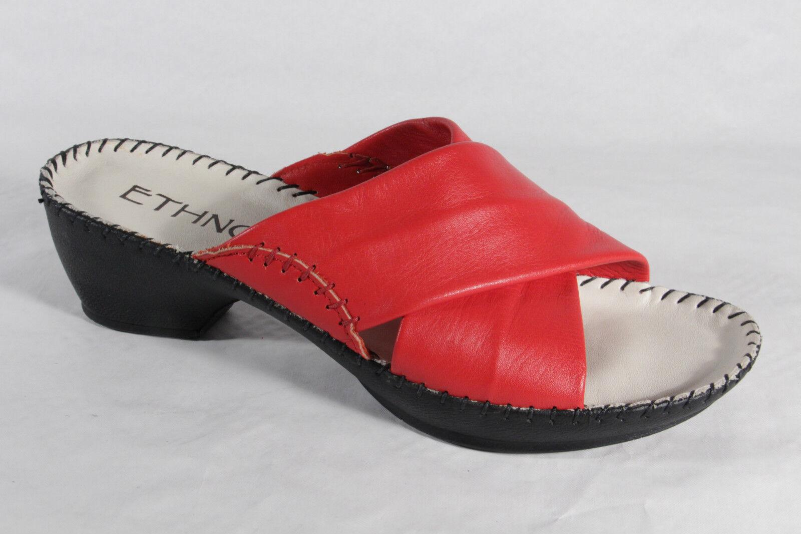 Florett Sandalias de Mujer Zapatilla Rojo, Plantilla Piel Nuevo