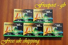 5 X qualità brillante FUJI DVM-60 MINI DV Videocamera Digitale NASTRI/CASSETTE