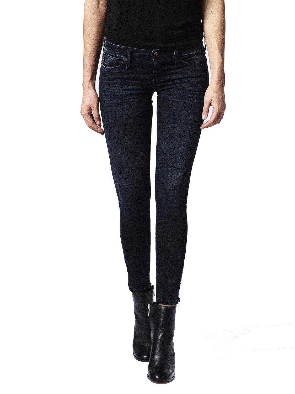 Diesel Skinzee-Low-Zip 0679M Jeans women Magro Magro
