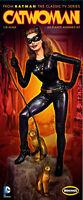 Moebius 1966 Batman Tv Show Catwoman Figure Diorama Model Kit 1/8