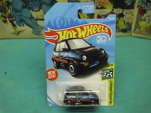 2018 Hot Wheels #190 Speed Graphics 10//10 /'85 HONDA CITY TURBO II Black w//AD Sp