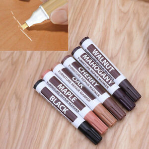 Wood Furniture Touch Up Kit Marker Pen Wax Filler Remover Repair Fix