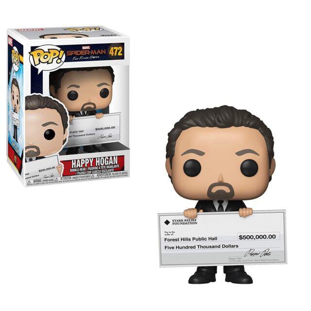 Funko - POP: Marvel: Spider-Man Far from Home - Happy Hogan Brand New In Box