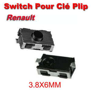 1 switch bouton plip cl t l commande renault clio 2 twingo infrarouge ebay. Black Bedroom Furniture Sets. Home Design Ideas