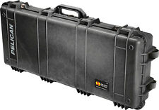 New Black Pelican 1700 NF empty Rifle gun case includes Free engraved nameplate
