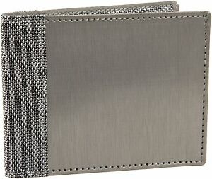 NEW-MENS-STEWART-STAND-STAINLESS-STEEL-RFID-PROTECTED-BIFOLD-CARD-WALLET-SILVER