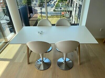 Find Spisebord Hvid Bordplade i Til boligen Køb brugt på DBA