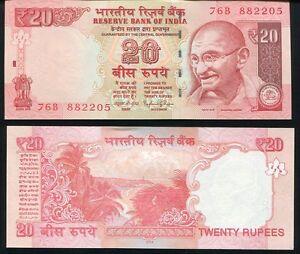 P-103 New 2017 India 20 Rupees UNC