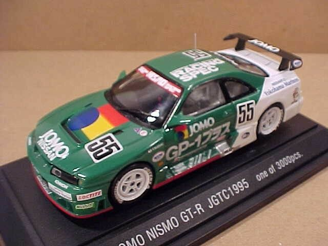 Ebbro 1 43 Moulage sous Pression Nissan Skyline Nismo Gt-R ,1995 Jgtc ,Jomo ,