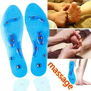 Unisex-Magnetic-Therapy-Insole-Silicone-Weight-Loss-Insoles-Shoes-Pad-Massage