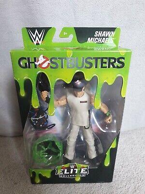 DANNEGGIATA WWF WWE Elite Mattel Wrestling Figura RARA STONE COLD GHOSTBUSTERS NUOVO