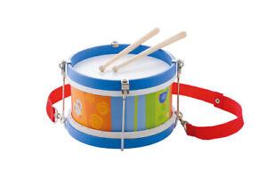 TAMBURO-colorato-in-legno-strumento-musicale-Bambini-Tamburo-Giocattoli-per-bambini-Sevi