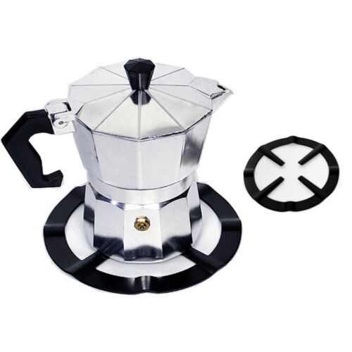 JW/_ Metal Coffee Maker Shelf Stove Top Reducer Support Pot Simmer Ring Home To