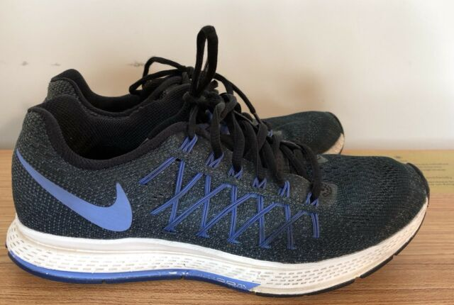 Nike Womens Air Zoom Pegasus 32 Running Sneaker Blue Purple Black 749344 Size 10
