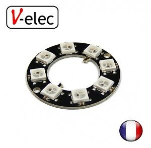 1254-8-Bits-8-X-WS2812-5050-RGB-LED-Ring-Lamp-Light-with-Integrated-Drivers