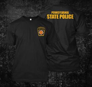 Pennsylvania State Police Men/'s Black T-Shirt