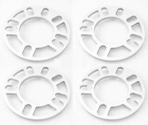 Autobahn88 3mm Car Wheel Spacer Adaptor 2PCS 4x100 5x100 5x114 Fit chevrolet