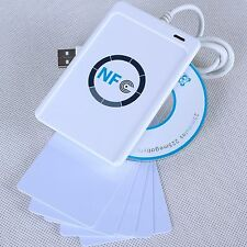 NFC ACR122U RFID Contactless smart Reader & Writer/USB  + 5x uid Card