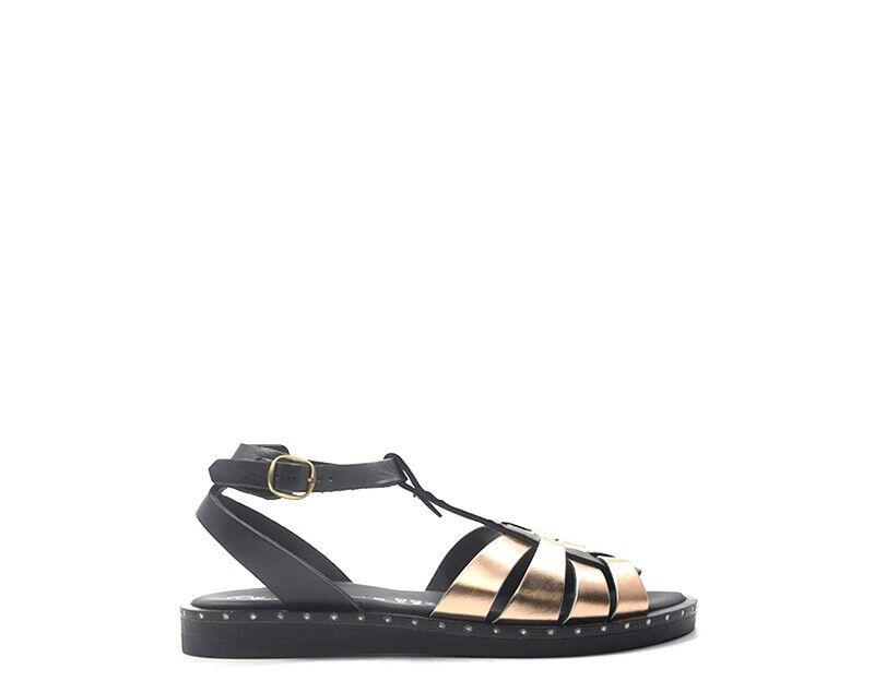 Chaussures OLIVIA POSTER Femme noir Cuir naturel 47-6038NR