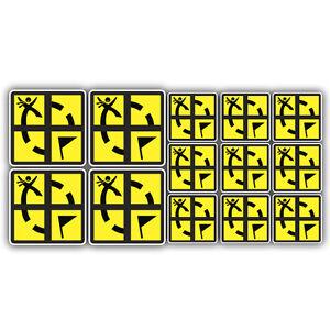 13x-geocaching-stickers-labels-Geocache-decals