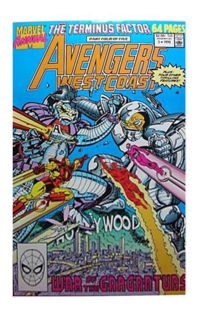 USA, 1990 Avengers West Coast Annual # 5