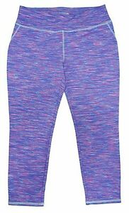 Purple//Light Blue//Pink Kirkland Signature Girls Capri Leggings