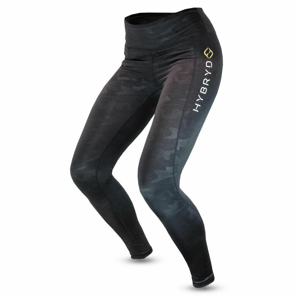 HYBRYD Fit Donna AUREOLA CAMO CONTENITIVE Legging per crossfit crossfit crossfit palestra ea1d4d