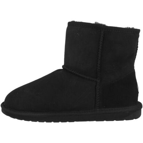 EMU Australia Stinger Mini Women Damen Schuhe Boots Stiefel black W10003-E003