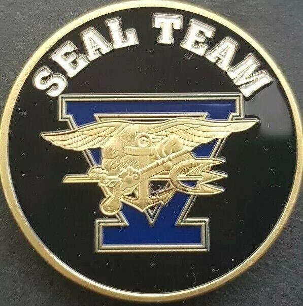 Seal Team 5 desafío moneda Soporte de moneda Libre Y Nuevo equipada cápsula de moneda