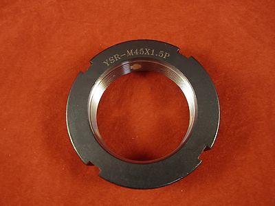 Yinsh Precision Bearing Locknut YSK-M20x1.0P Turning- Red