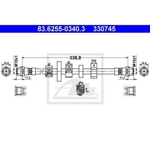 Bremsschlauch ATE 83.6255-0340.3