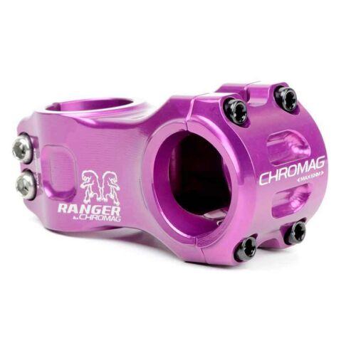 Chromag Ranger V2 Stem 1-1//8/'/' L 31.8mm Purple 31mm 0� Dia