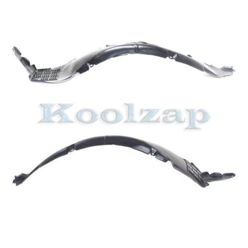 For 06-08 Sonata Front Splash Shield Inner Fender Liner Left Right Side SET PAIR