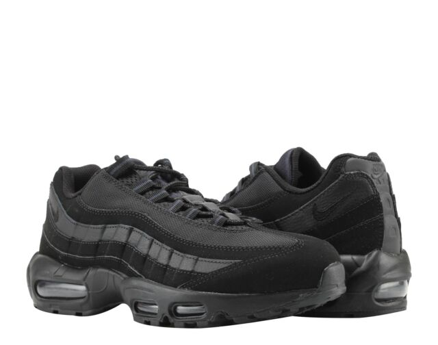 huge discount ea2e6 a9a42 Nike Air Max 95 Triple BlackBlack-Anthracite Mens Running Shoes 609048-092