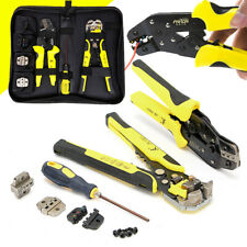 Self Adjusting Insulation Wire Stripper Cutter Crimper Cable Stripping Tools Set