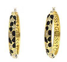 Guess Damen Ohrringe Creolen Gold UBE91312