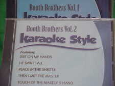 Booth Brothers~#1 & 2 ~ Christian ~ Daywind ~ Karaoke Style ~~ Try Jesus ~~ CD+G