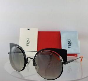 61e56f0ed Brand New Authentic Fendi Ff 0177/S Sunglasses 003Vk Orange Black ...