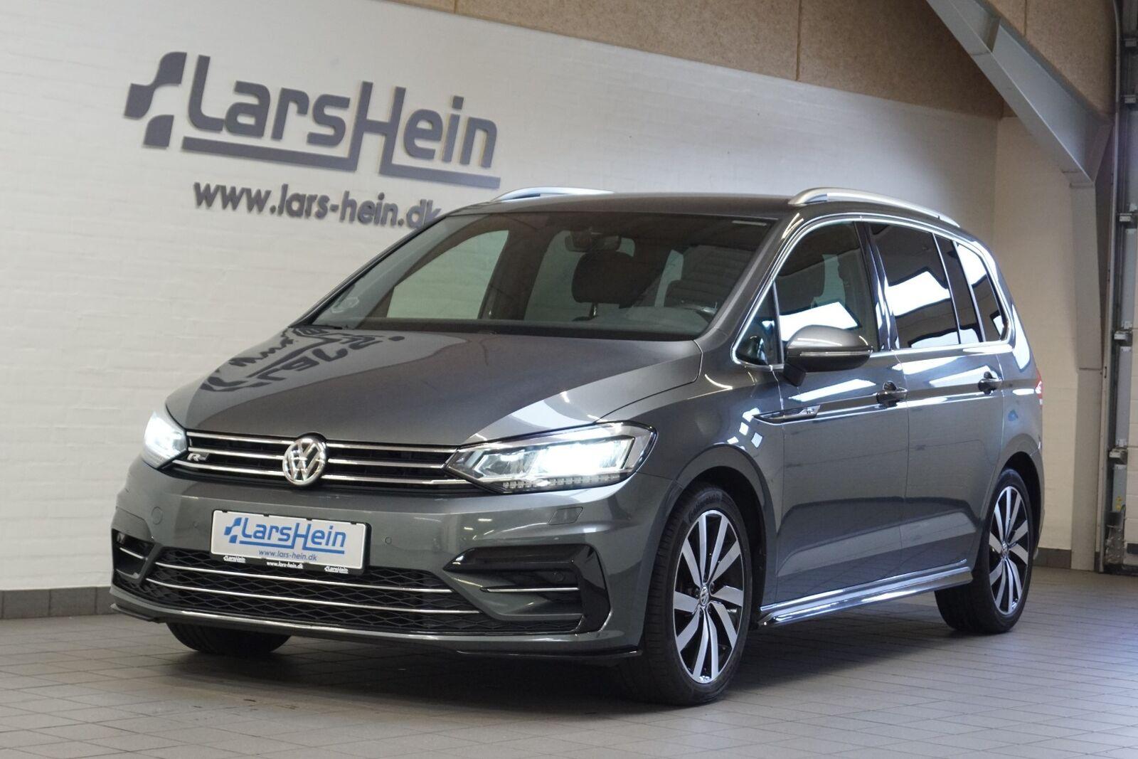 VW Touran 2,0 TDi 150 R-line DSG 7prs 5d - 339.800 kr.