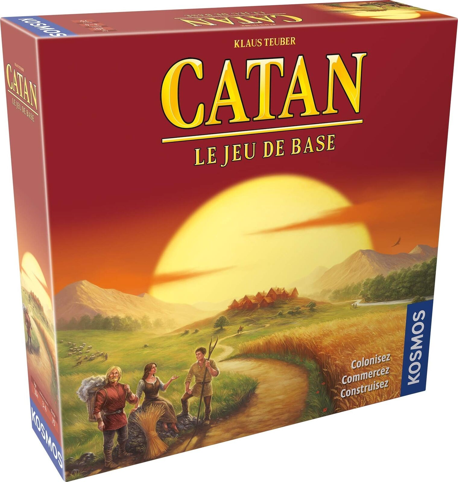 Asmodee – Society – Catan – The Basic Set, ficat01, N A