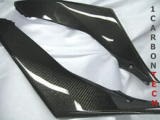 07 08 2007 2008 SUZUKI GSXR 1000 CARBON FIBER LOWER TANK PANELS