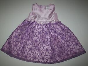 New-Gymboree-Lilac-Embroidered-Flower-Dress-Size-3T-Holiday-Egg-Hunt-Easter