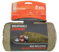 Sol Escape Bivvy Olive Drab Adventure Medical Kits Sleeping Bag Shelter Amk Od on sale