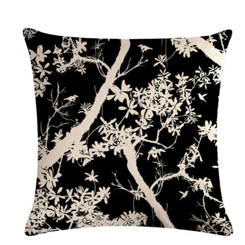 Tree SHADOW series Linge de maison canapé lit Décor Taie d/'oreiller Décor Housse de coussin Jia