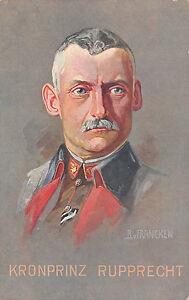 Generalfeldmarschal-Kronprinz-Rupprecht-Postkarte